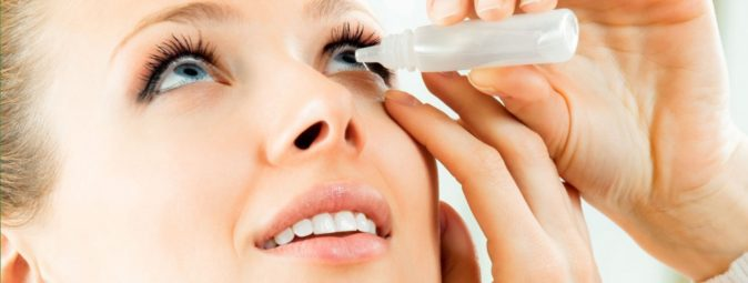 göz ağrısı için damla kullanımı