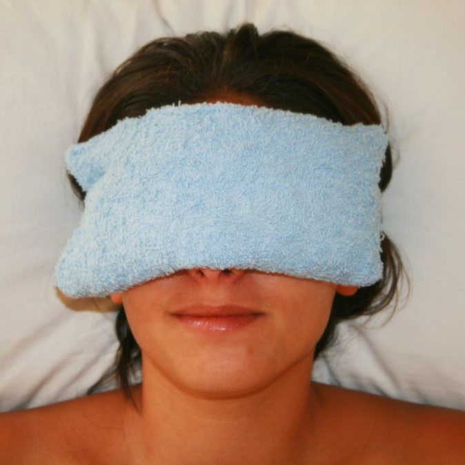 göz altı morluğu hızlı tedavi