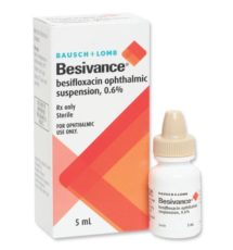 konjonktivit göz damlası ve antibiyotik